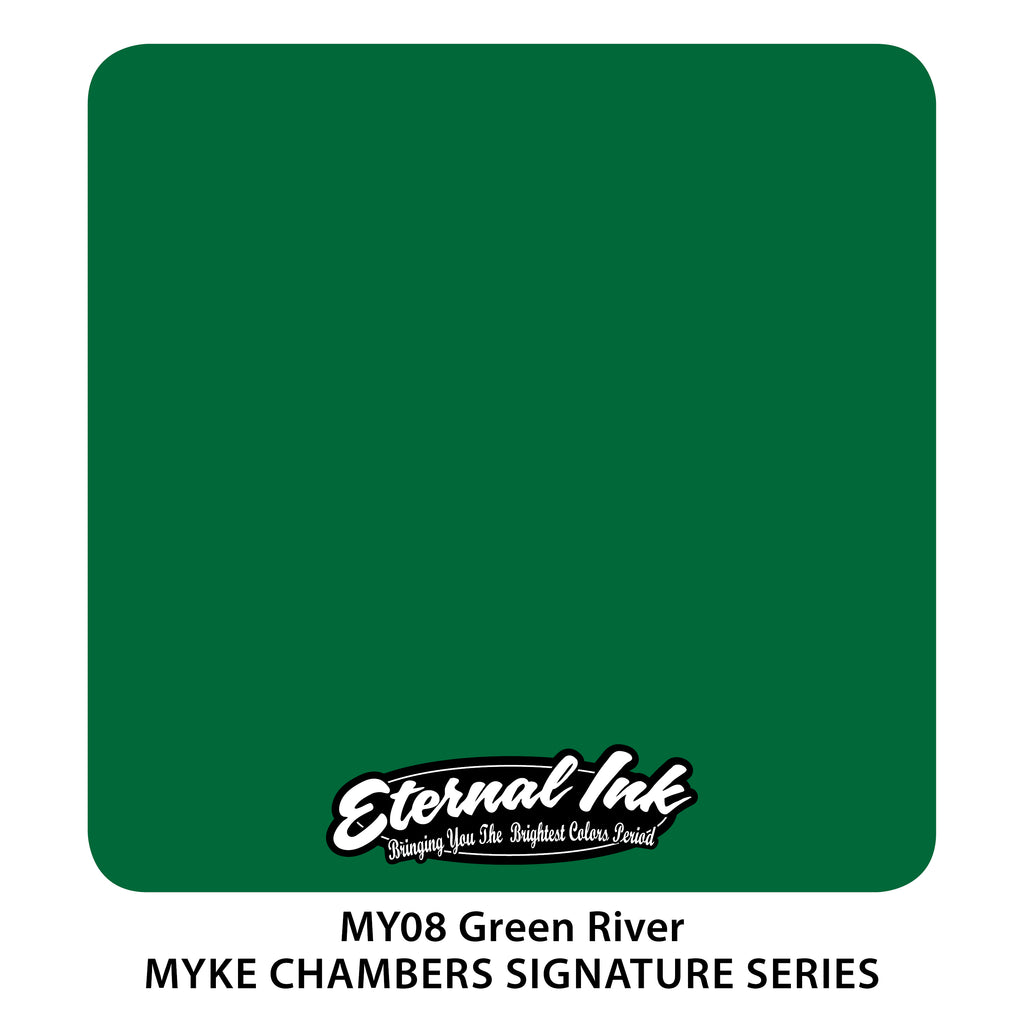 Eternal Ink Myke Chambers Signature Set - Green River