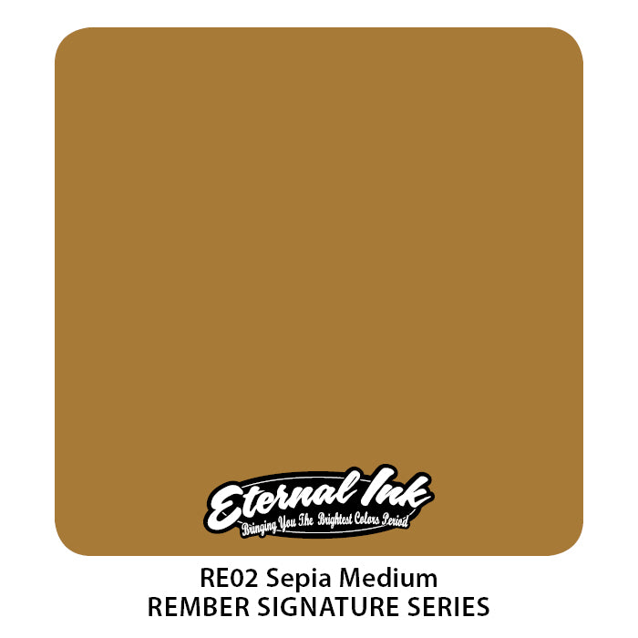 Eternal Ink Rember Signature Set - Sepia Medium