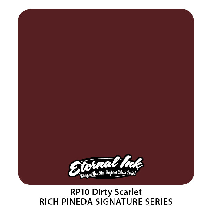 Eternal Ink Rich Pineda's Flesh to Death Set - Dirty Scarlet