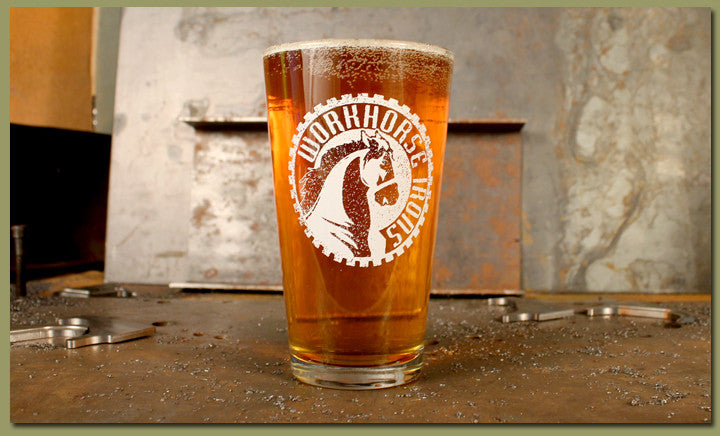 Workhorse Irons Pint Glass