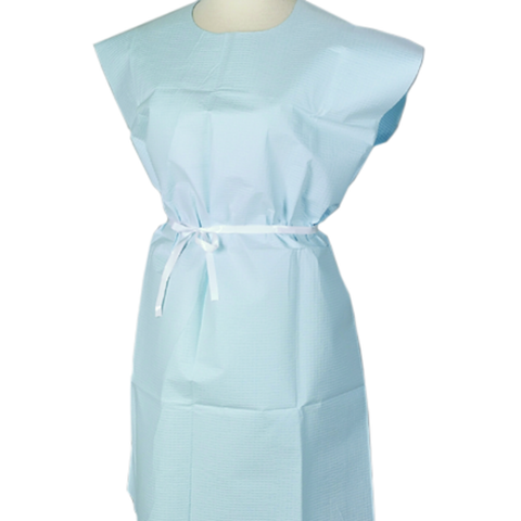 Patient Gowns Disposable - Blue