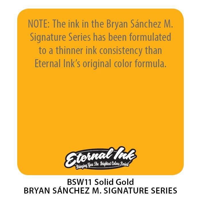 Eternal BS Solid Gold - Bryan Sanchez M. Watercolor