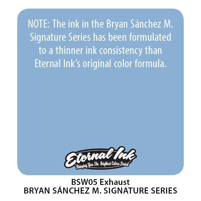 Eternal BS Exhaust - Bryan Sanchez M. Watercolor