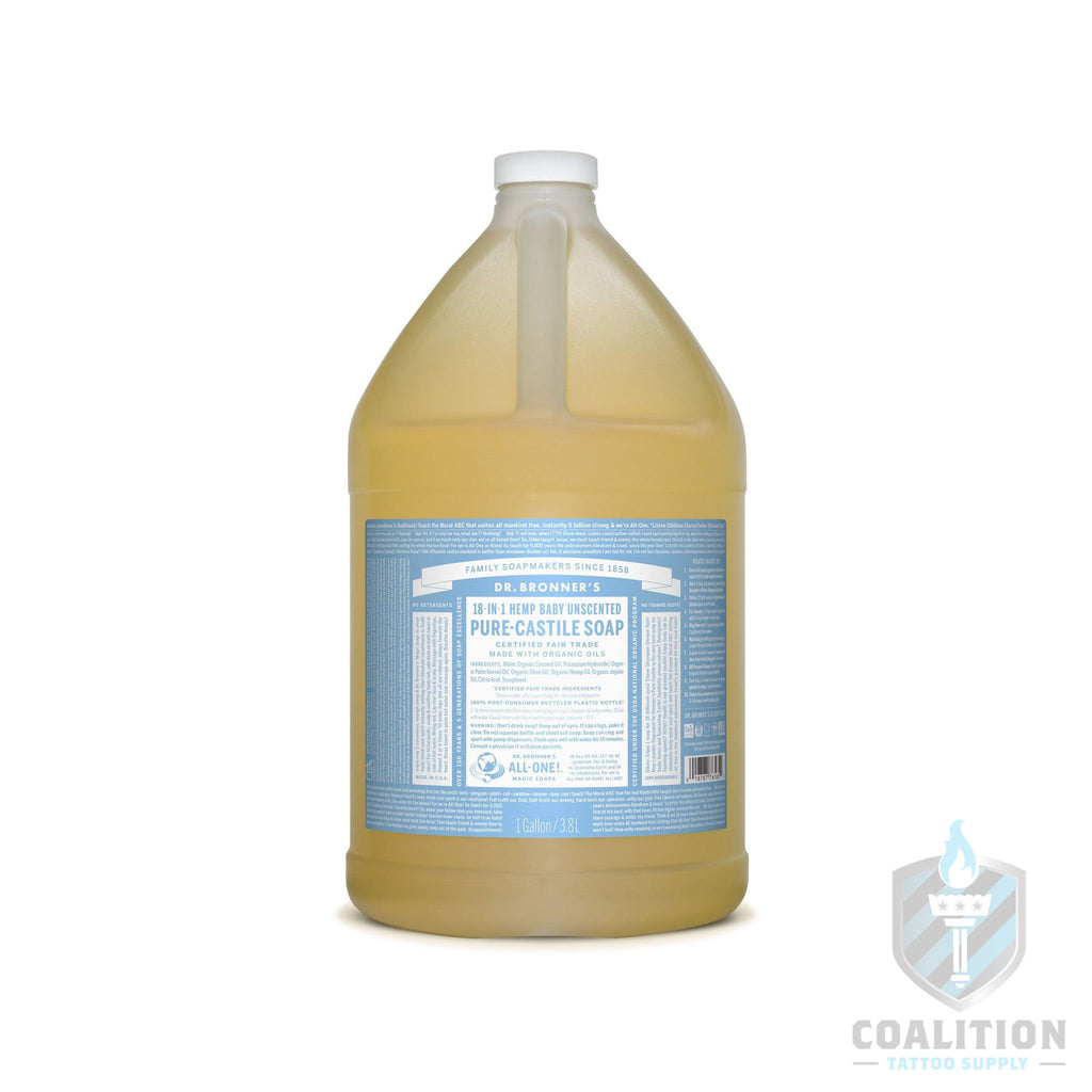 Dr. Bronners soap 1 gallon