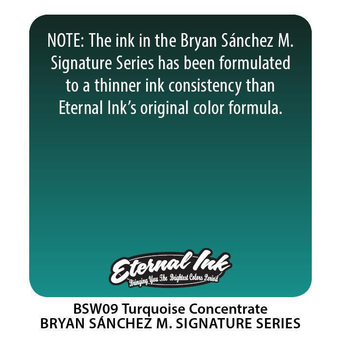 Eternal BS Turquoise Concentrate - Bryan Sanchez M. Watercolor