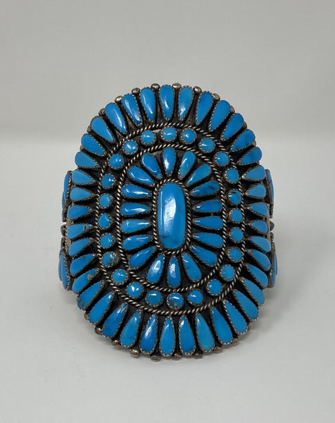 Vintage Extra Large Turquoise Cuff