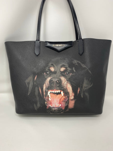 Givenchy Rottweiler Coated Canvas Tote