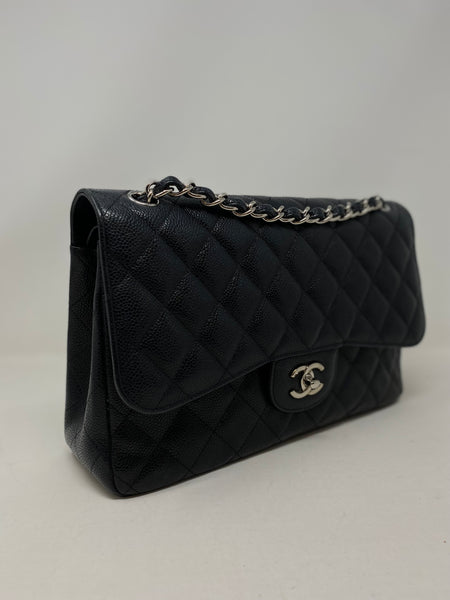 Chanel Tricolor Classic Quilted Wallet on a Chain