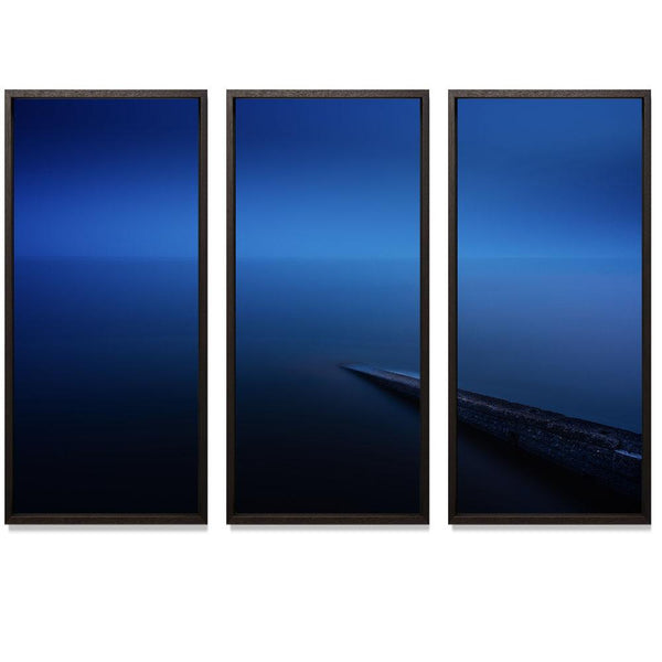 "20:37 Triptych Smith & Co Galleries 74"" x 50"" Modern Wood 5mm Luxe Floated - Strivezy"