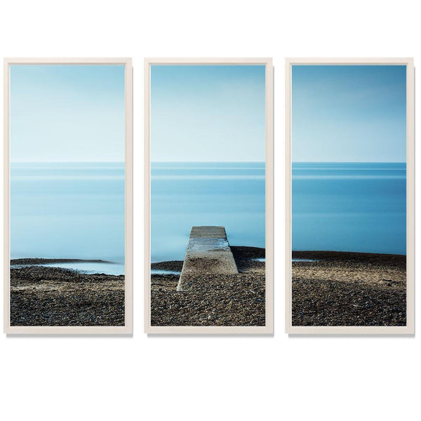 "23:27 Triptych Smith & Co Galleries 74"" x 50"" White 5mm Luxe Floated - Strivezy"