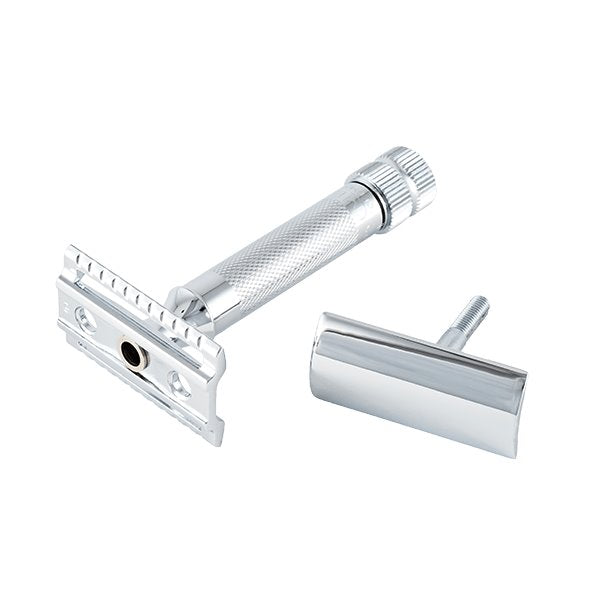 Merkur | 34C HD Double Edge Safety Razor | Extra Thick Handle | Strivezy | Shaving Accessories | Razor