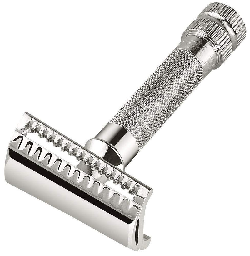 Murker | 37C Double Edge Safety Razor | Slant Bar, Extra Thick Handle | Shaving Accessories | Razors | Strivezy