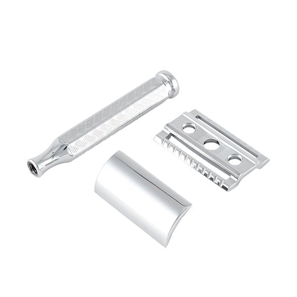 Merkur | 42C Double Edge Safety Razor | Etched Handle | Strivezy