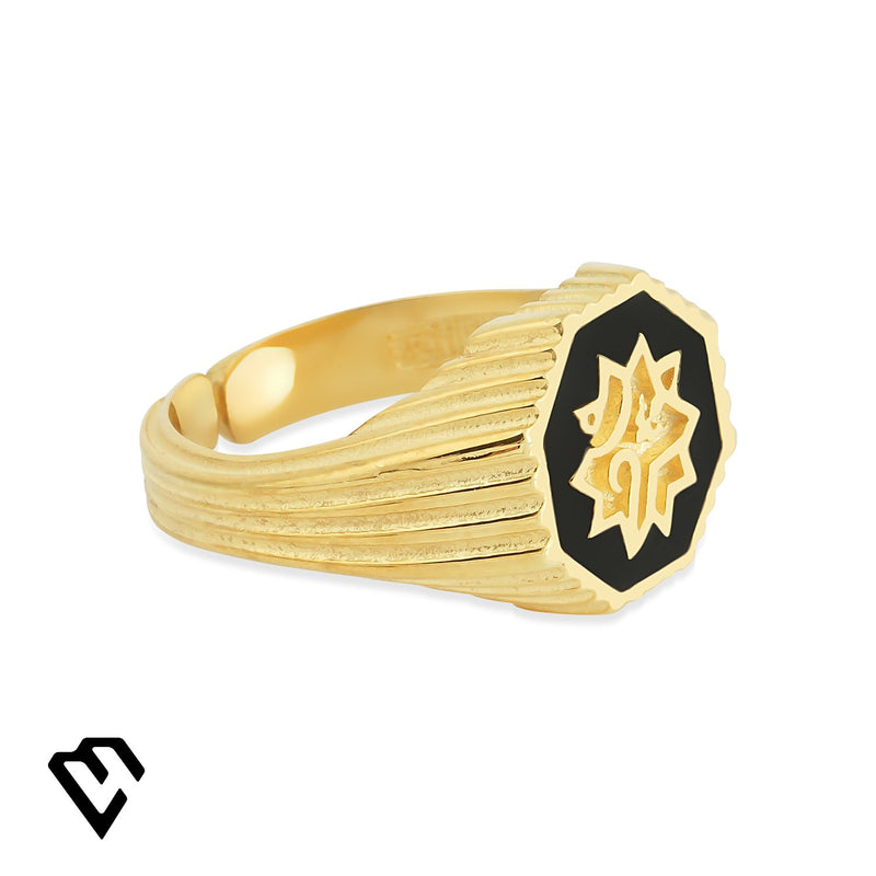 Adel Ring Small Yüzük Luna Merdin Gold - Strivezy