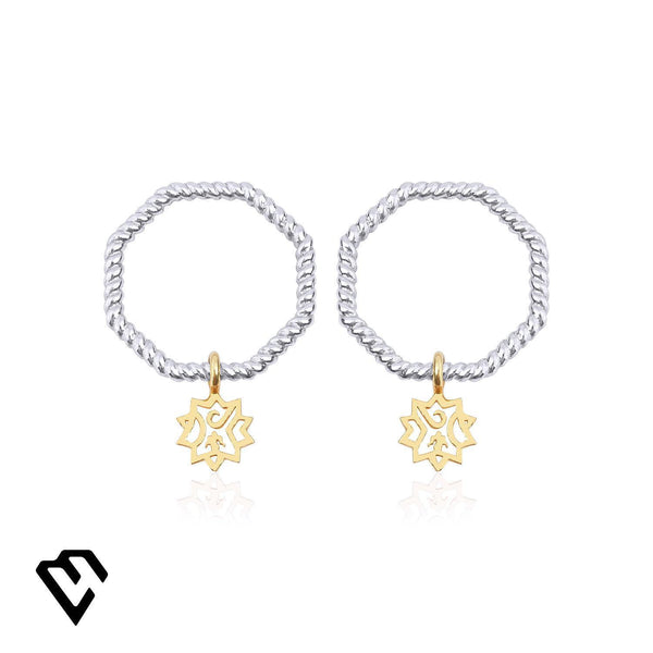 Adel Twist Earrings Küpe Luna Merdin - Strivezy