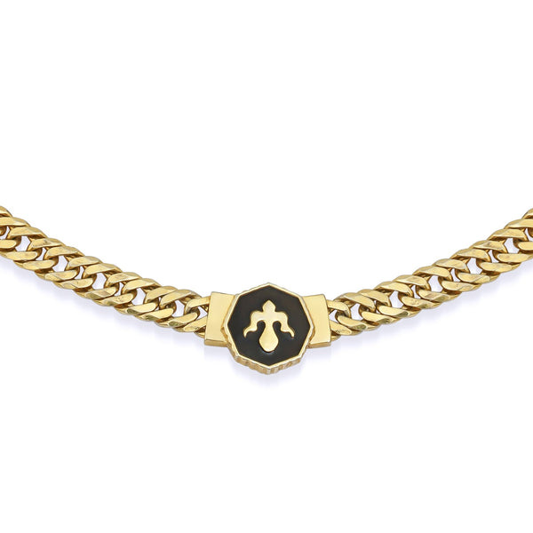 Alka Chain Necklace Gold Kolye Luna Merdin - Strivezy