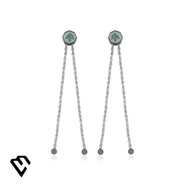 Alka Earrings Küpe Luna Merdin Sterling Silver - Strivezy