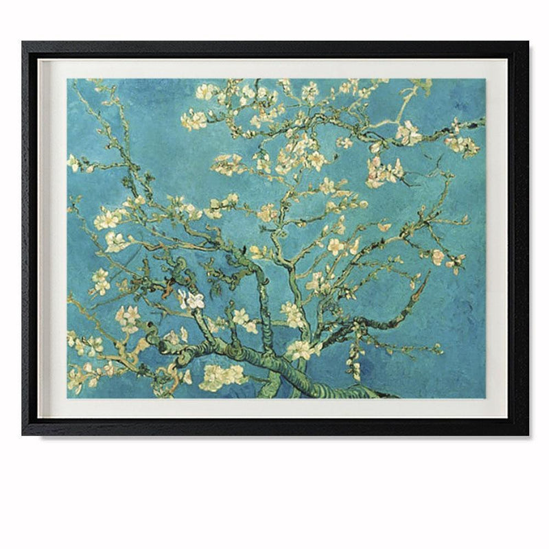 "Almond Blossom, 1890 Smith & Co Galleries 20"" x 16"" Black 5mm Luxe Floated - Strivezy"