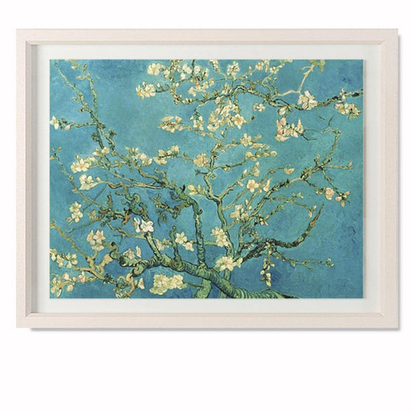 "Almond Blossom, 1890 Smith & Co Galleries 20"" x 16"" Cream 5mm Luxe Floated - Strivezy"
