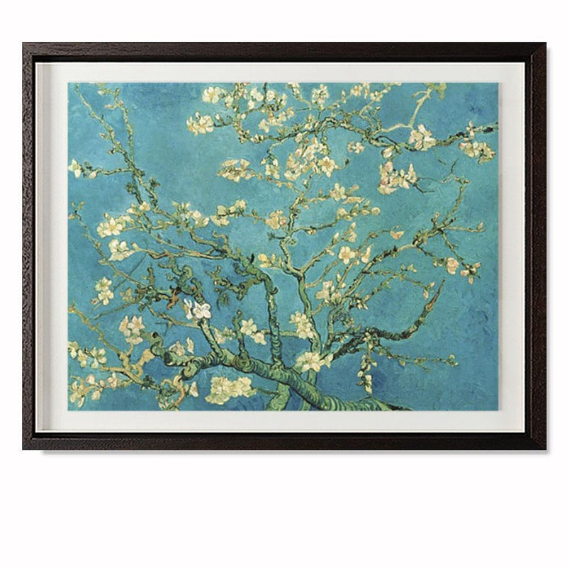 "Almond Blossom, 1890 Smith & Co Galleries 20"" x 16"" Modern Wood 5mm Luxe Floated - Strivezy"