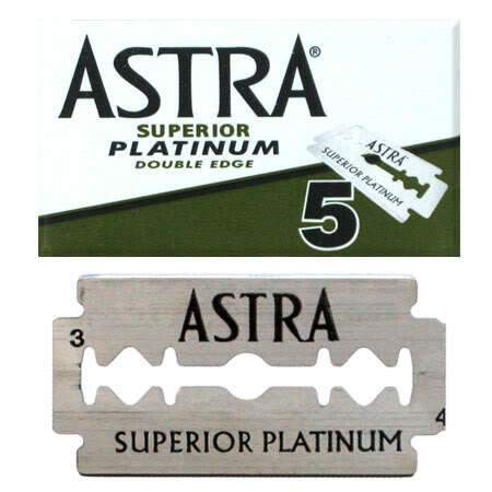 Astra | Superior Platinum Double Edge Razor Blades | Shaving | Strivezy