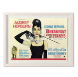 "Breakfast At Tiffany's Smith & Co Galleries 40"" x 31"" Cream 5mm Luxe Floated - Strivezy"