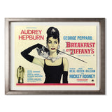 "Breakfast At Tiffany's Smith & Co Galleries 40"" x 31"" Warm Silver 5mm Luxe Floated - Strivezy"