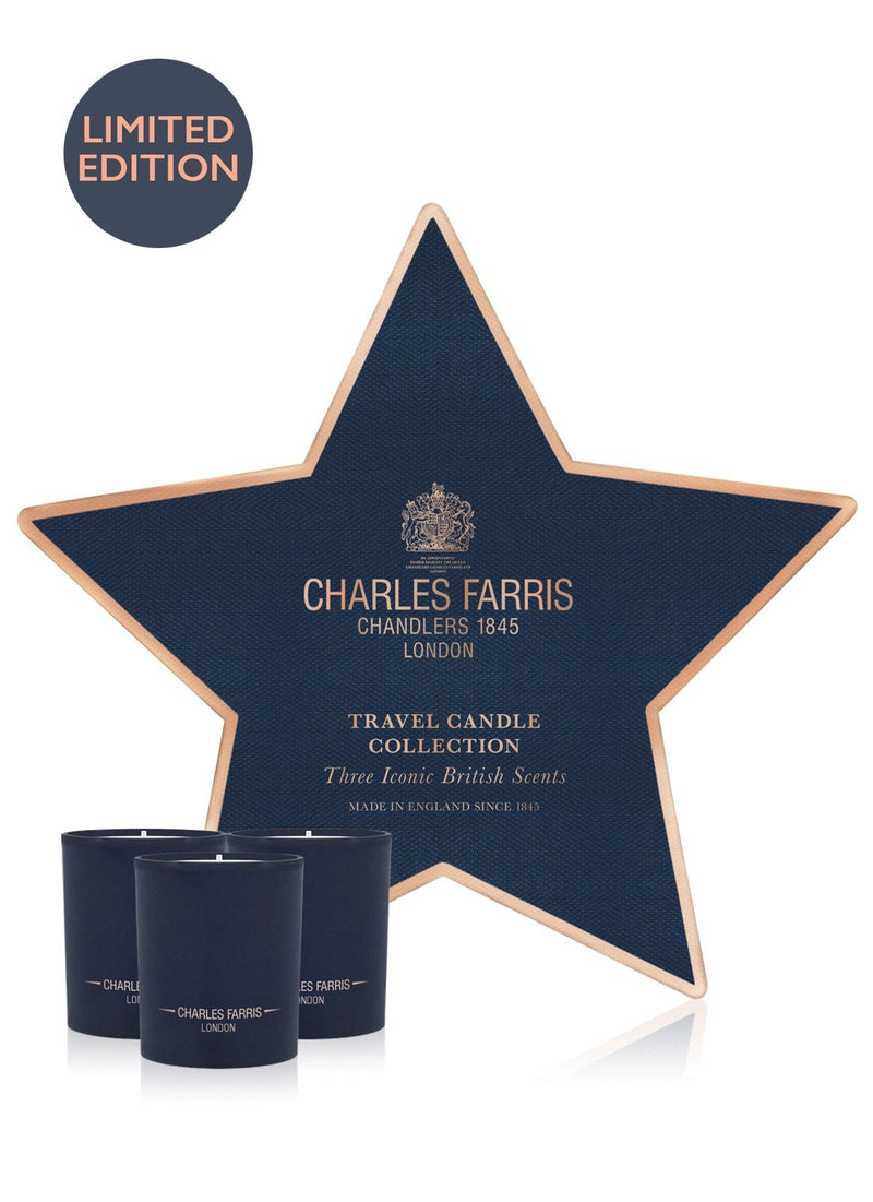Candle Star Gift Set: A Winter's Tale, British Expedition, and Garden of Eden Charles Farris - Strivezy