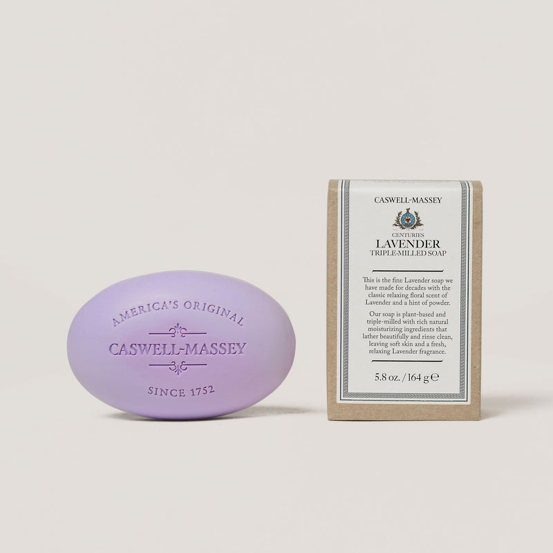 Centuries Lavender Bar Soap Soap Caswell-Massey - Strivezy