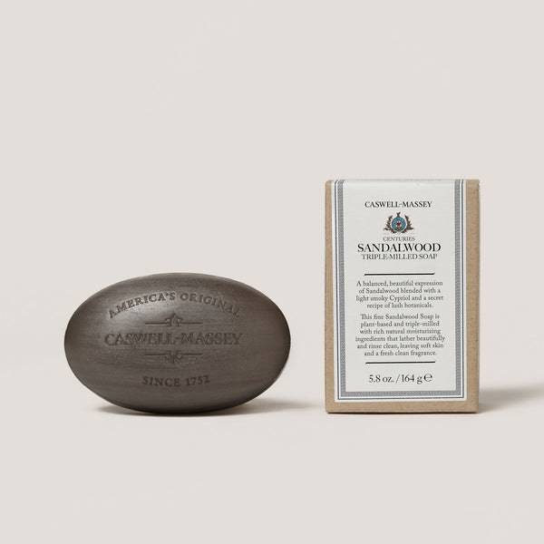 Centuries Sandalwood Bar Soap Soap Caswell-Massey - Strivezy