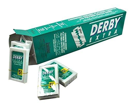 Derby | Extra Double Edge Razor Blades | Shaving | Strivezy
