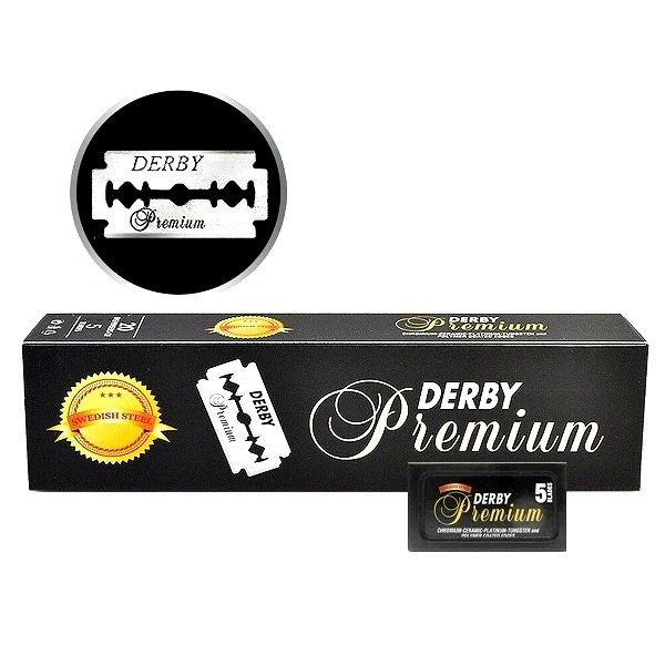 Derby | Premium Double Edge Stainless Safety Razor Blades | Shaving | Strivezy