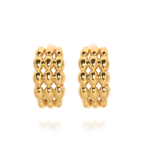 Atelier Orman | Dew Earrings | Gold | Strivezy
