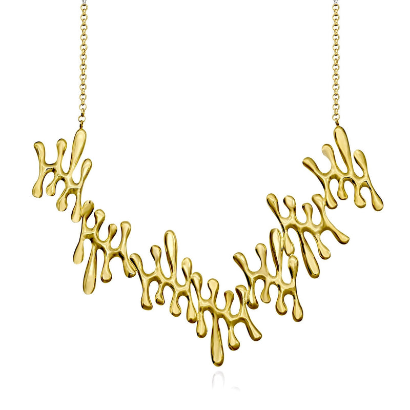 Atelier Orman | Drops Necklace | Gold | Strivezy