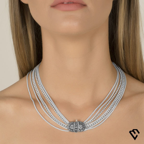 Enlil Chain Necklace Kolye Luna Merdin - Strivezy