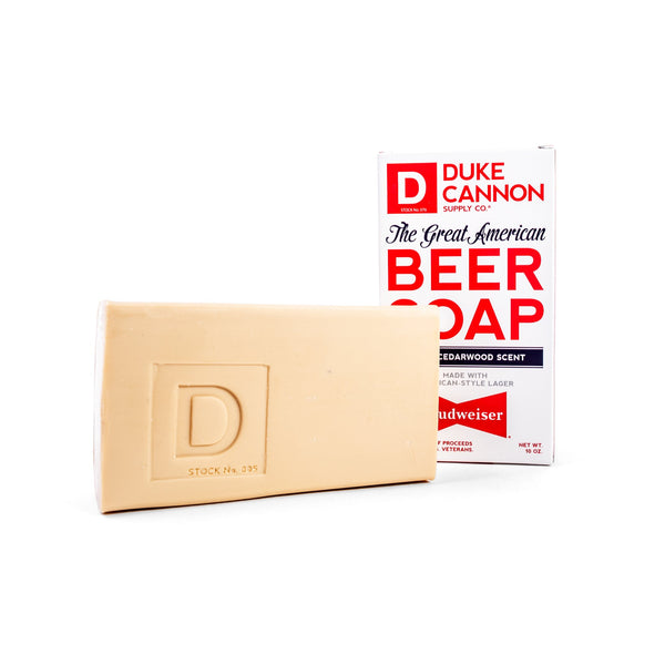 Great American Beer Soap - Made with Budweiser Bar Soap Duke Cannon Supply Co. - Strivezy