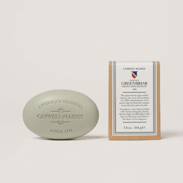 Heritage Greenbriar Bar Soap Soap Caswell-Massey - Strivezy