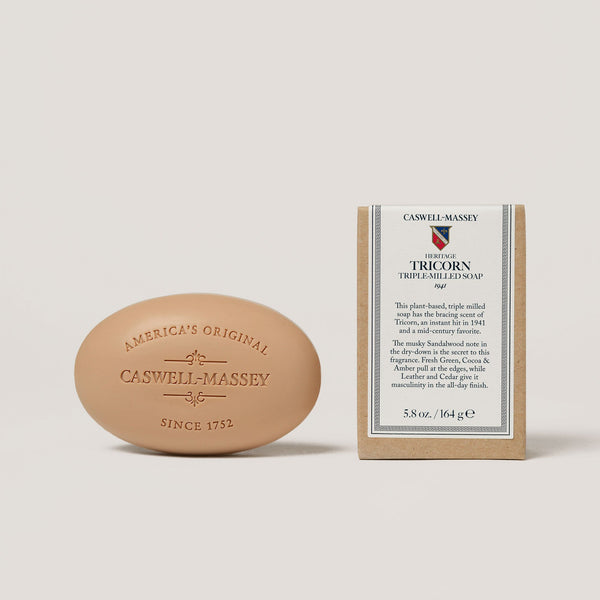 Heritage Tricorn Bar Soap Bar Soap Caswell-Massey - Strivezy