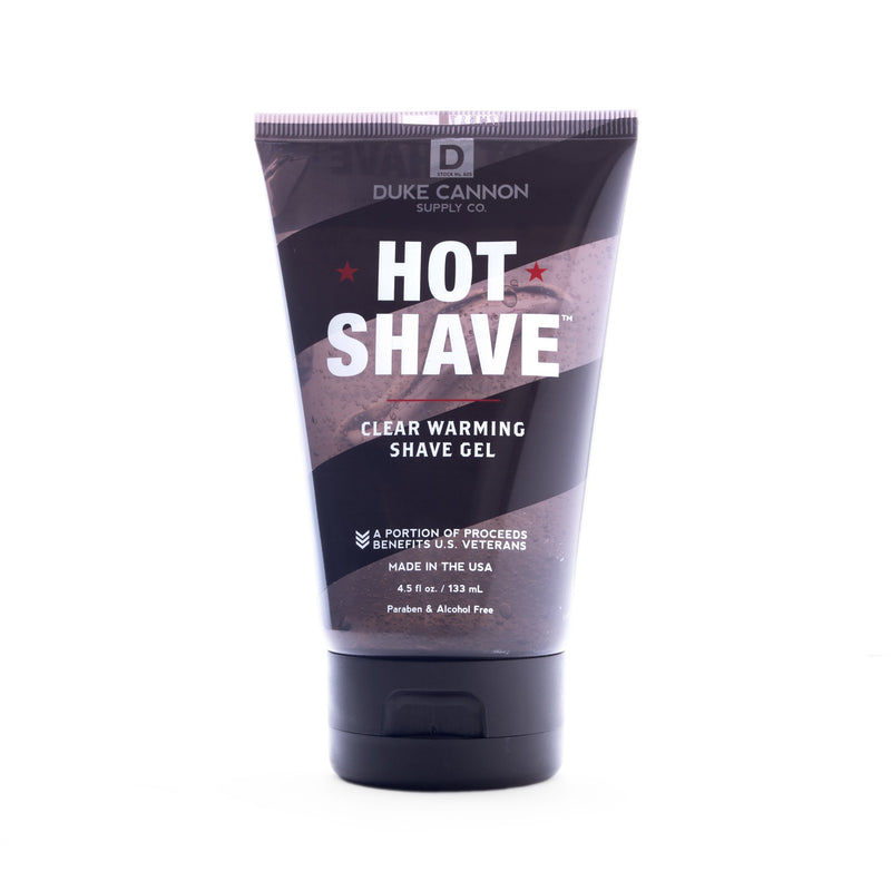 Hot Shave Clear Warming Shave Gel Shave Gel Duke Cannon Supply Co. - Strivezy