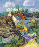 Houses At Auvers, 1890 Smith & Co Galleries - Strivezy