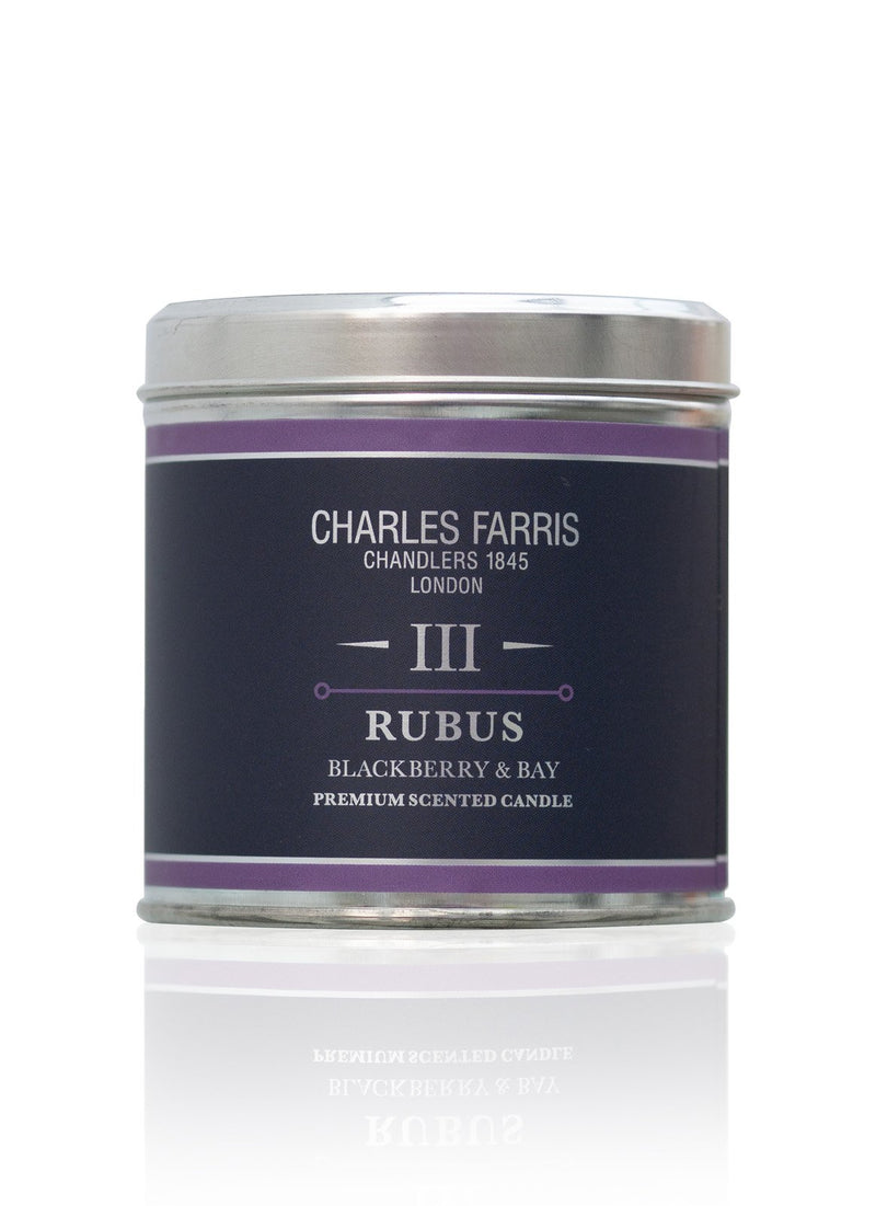 III Rubus: Blackberry & Bay Charles Farris 240g Tin (45 hours) - Strivezy