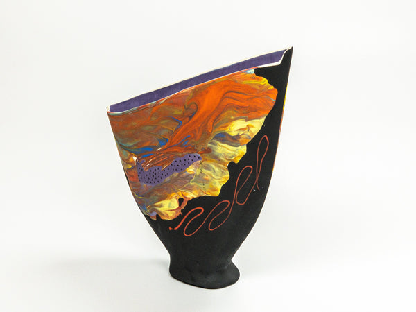 Jibsail Vase: Spectrum Black – Strivezy Exclusive Jean Elton Studio - Strivezy