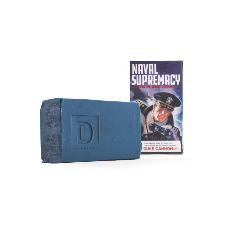 Limited Edition WWII-era Big Ass Brick of Soap - Smells Like Naval Supremacy Bar Soap Duke Cannon Supply Co. - Strivezy