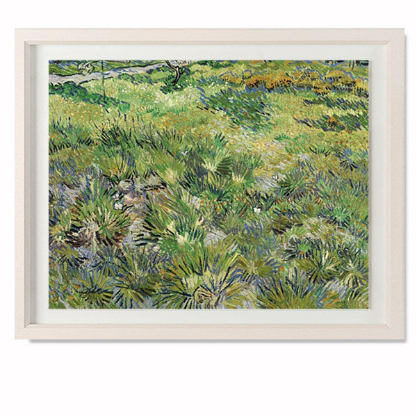"Long Grass With Butterflies Smith & Co Galleries 28"" x 23"" Cream 5mm Luxe Floated - Strivezy"