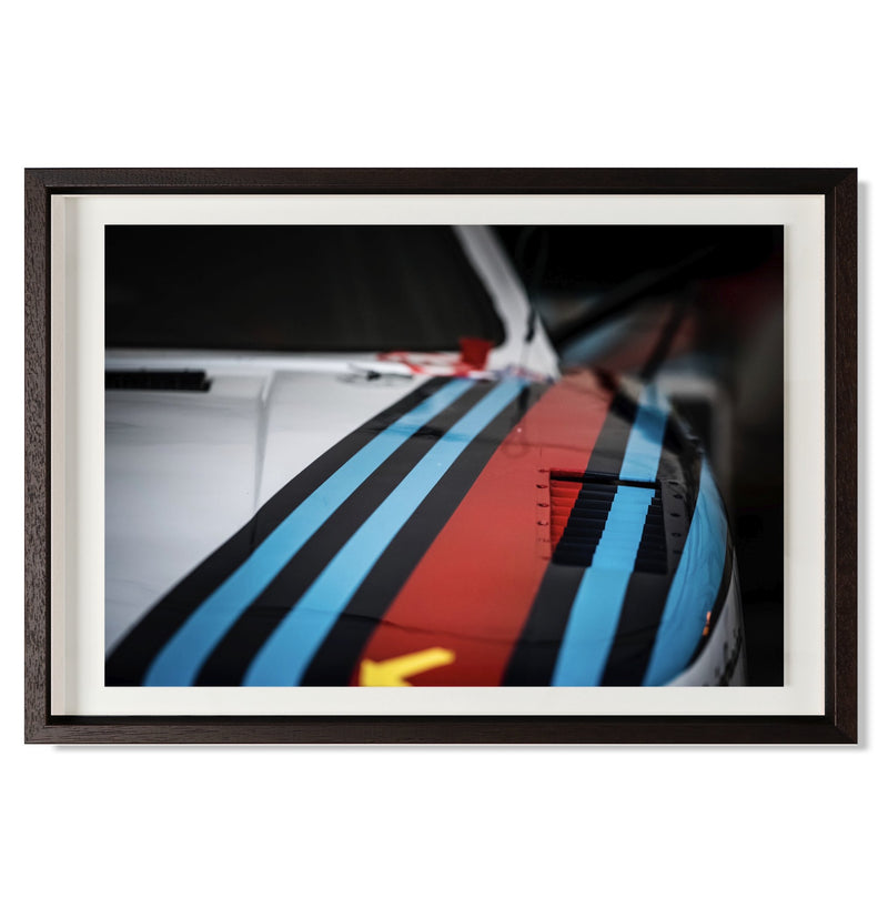 "Martini Lancia Smith & Co Galleries 24"" x 16"" Black 5mm Luxe Floated - Strivezy"