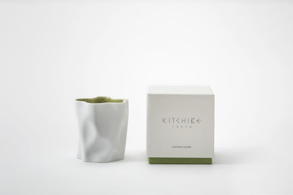 Matcha Crinkle Candle Kitchibe - Strivezy