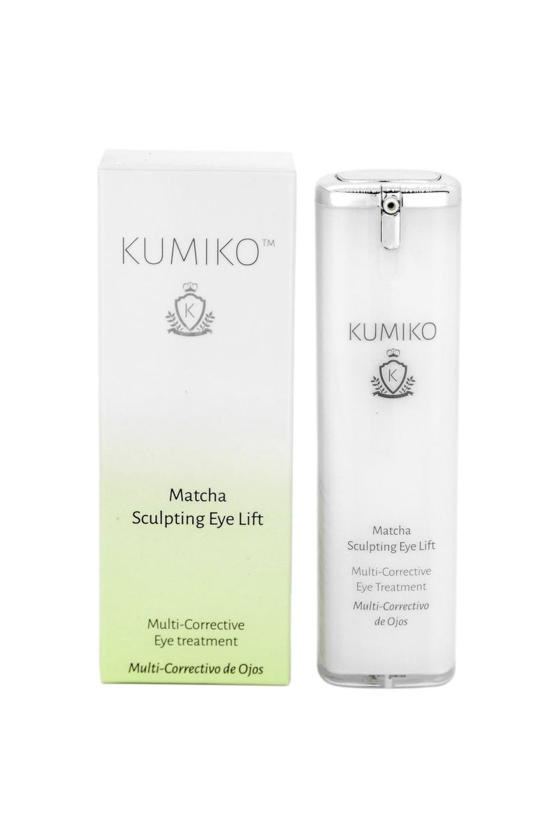 Matcha Sculpting Eye Lift - Multi-Corrective Eye Treatment 30ml Kumiko Skincare - Strivezy