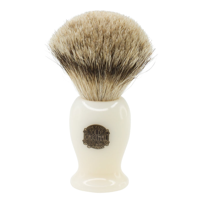 Progress Vulfix | Medium Cream Handle Shaving Brush | Super Badger | Shaving Accessories | Strivezy