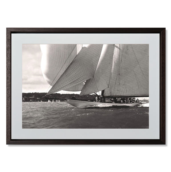 "Ocean Racing I Smith & Co Galleries 24"" x 18"" Modern Wood 5mm Luxe Floated - Strivezy"