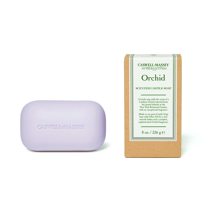 Orchid Saddle Bar Soap Caswell-Massey - Strivezy
